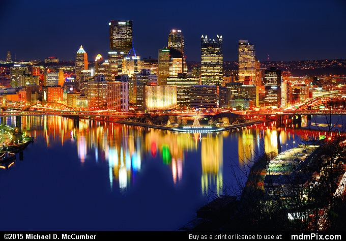 Pittsburgh Skyline (Pittsburgh Skyline Picture 011 - December 16, 2015 from Pittsburgh, Pennsylvania)