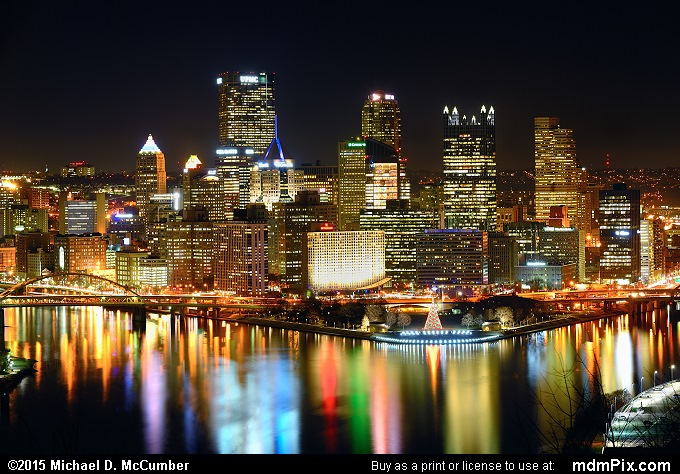 Pittsburgh Skyline (Pittsburgh Skyline Picture 014 - December 16, 2015 from Pittsburgh, Pennsylvania)