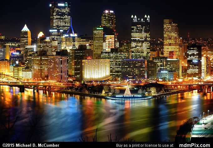 Pittsburgh Skyline (Pittsburgh Skyline Picture 017 - December 16, 2015 from Pittsburgh, Pennsylvania)
