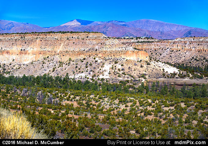 Potrero Long Mesa (Potrero Long Mesa Picture 006 - March 21, 2016 from Los Alamos, New Mexico)