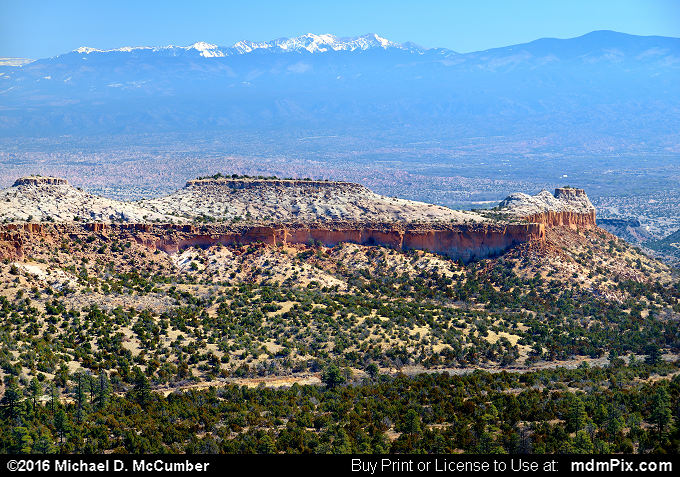 Potrero Long Mesa (Potrero Long Mesa Picture 014 - March 21, 2016 from Los Alamos, New Mexico)