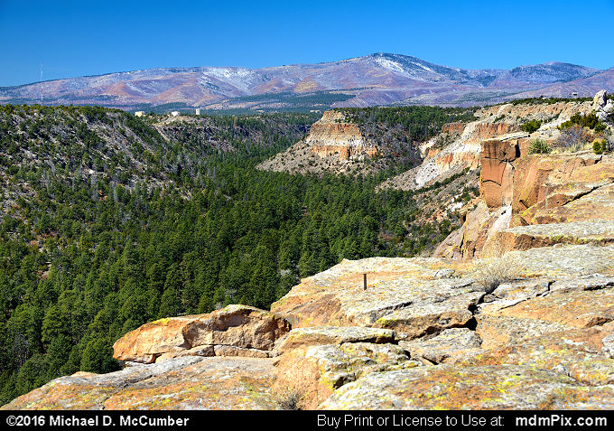 Quemazon Canyon (Quemazon Canyon Picture 018 - March 21, 2016 from Los Alamos, New Mexico)