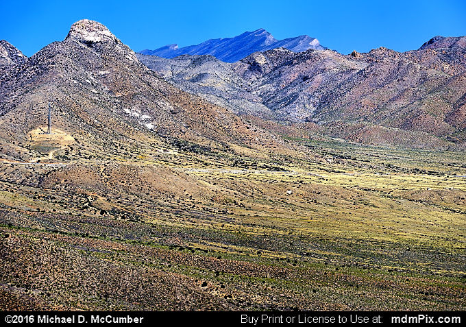 Tularosa Basin (Tularosa Basin Picture 028 - March 25, 2016 from Organ Mountains-Desert Peaks National Monument, New Mexico)