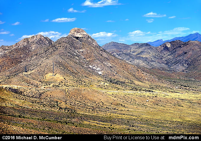 Tularosa Basin (Tularosa Basin Picture 053 - March 25, 2016 from Organ Mountains-Desert Peaks National Monument, New Mexico)