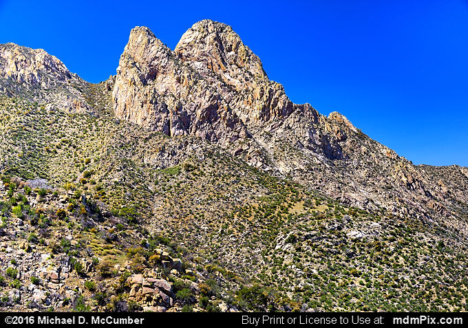 Organ Mountains (Organ Mountains Picture 056 - March 25, 2016 from Organ Mountains-Desert Peaks National Monument, New Mexico)