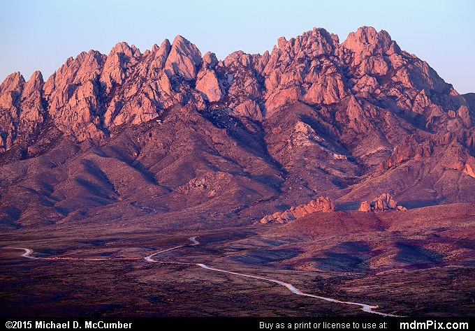 Organ Mountains (Organ Mountains Picture 066 - March 26, 2016 from Las Cruces, New Mexico)