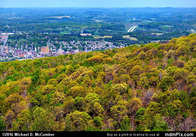 Mount Summit Scenic Overlook (Mount Summit Scenic Overlook Picture 008 - May 8, 2016 from Hopwood, Pennsylvania)