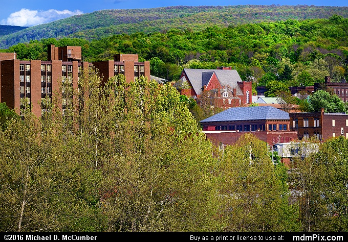 Connellsville Skyline (Connellsville Skyline Picture 065 - May 8, 2016 from Connellsville, Pennsylvania)
