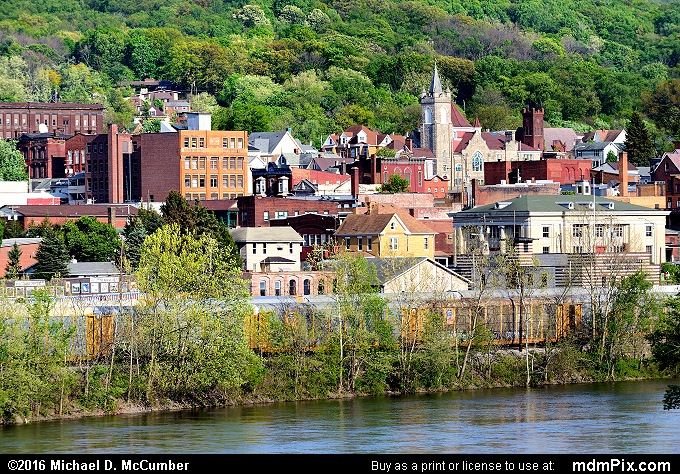 Connellsville Skyline (Connellsville Skyline Picture 068 - May 8, 2016 from Connellsville, Pennsylvania)