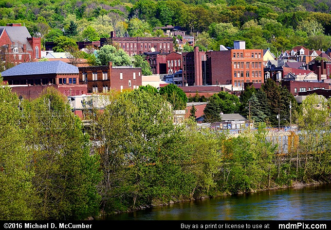 Connellsville Skyline (Connellsville Skyline Picture 077 - May 8, 2016 from Connellsville, Pennsylvania)