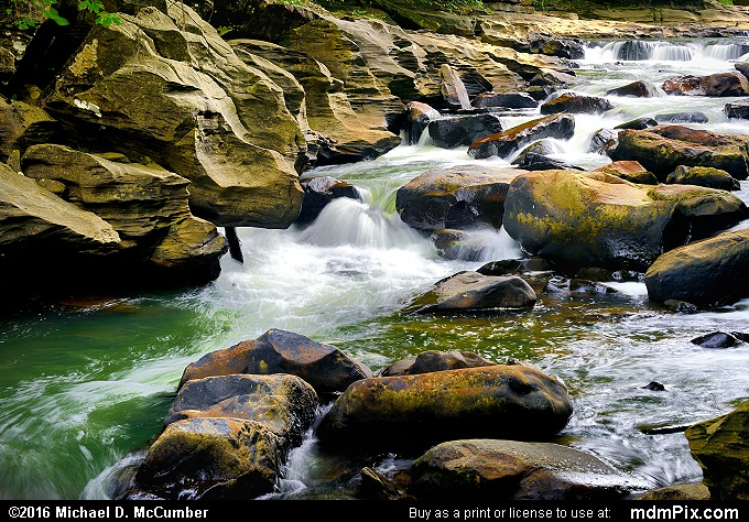 Indian Creek (Indian Creek Picture 001 - July 10, 2016 from Mill Run, Pennsylvania)