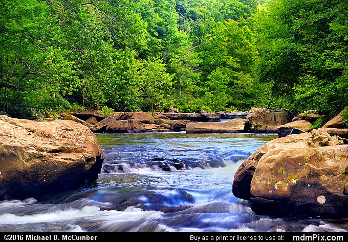 Indian Creek (Indian Creek Picture 013 - July 10, 2016 from Mill Run, Pennsylvania)