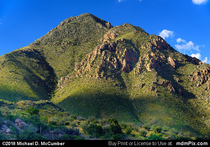 Organ Mountains (Organ Mountains Picture 001 - October 1, 2016 from Organ Mountains-Desert Peaks National Monument, New Mexico)