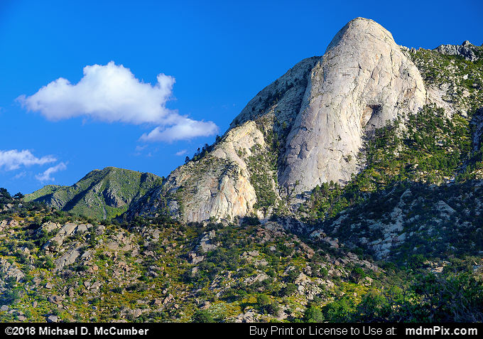 Sugarloaf Peak (Sugarloaf Peak Picture 004 - October 1, 2016 from Organ Mountains-Desert Peaks National Monument, New Mexico)