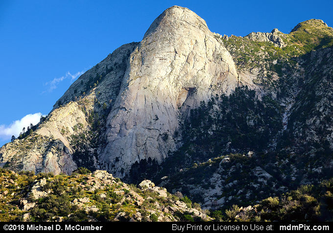 Sugarloaf Peak (Sugarloaf Peak Picture 011 - October 1, 2016 from Organ Mountains-Desert Peaks National Monument, New Mexico)