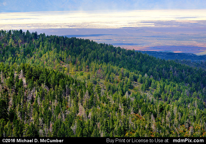 Horse Ridge (Horse Ridge Picture 010 - October 2, 2016 from Cloudcroft, New Mexico)