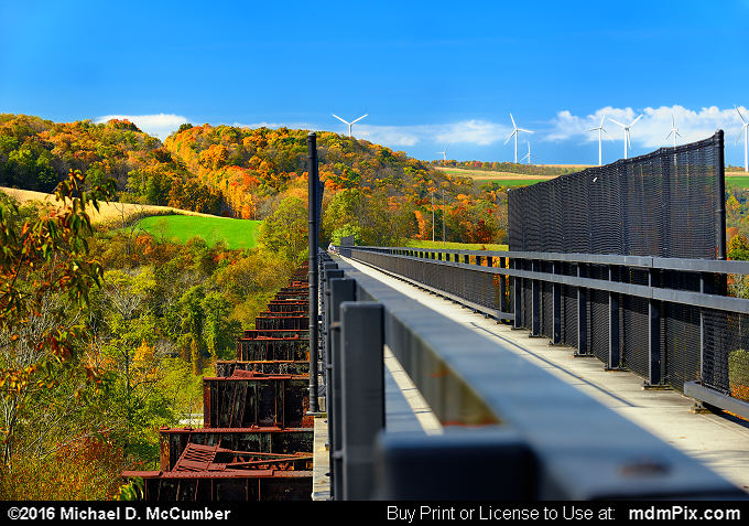 Salisbury Viaduct Bridge (Salisbury Viaduct Bridge Picture 011 - October 15, 2016 from Meyersdale, Pennsylvania)
