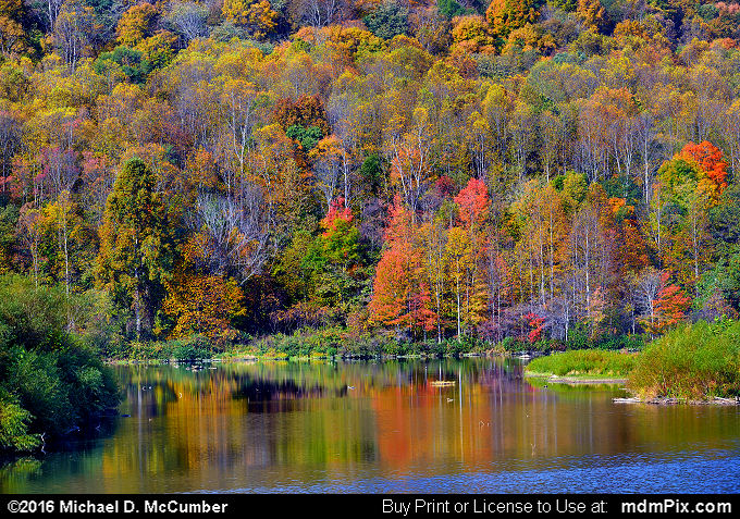 Mill Run Resevoir (Mill Run Resevoir Picture 006 - October 16, 2016 from Mill Run, Pennsylvania)