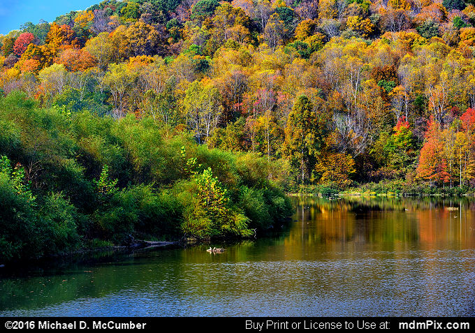 Mill Run Resevoir (Mill Run Resevoir Picture 007 - October 16, 2016 from Mill Run, Pennsylvania)