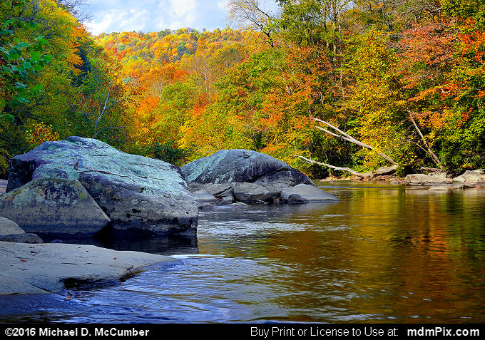 Indian Creek (Indian Creek Picture 019 - October 16, 2016 from Mill Run, Pennsylvania)