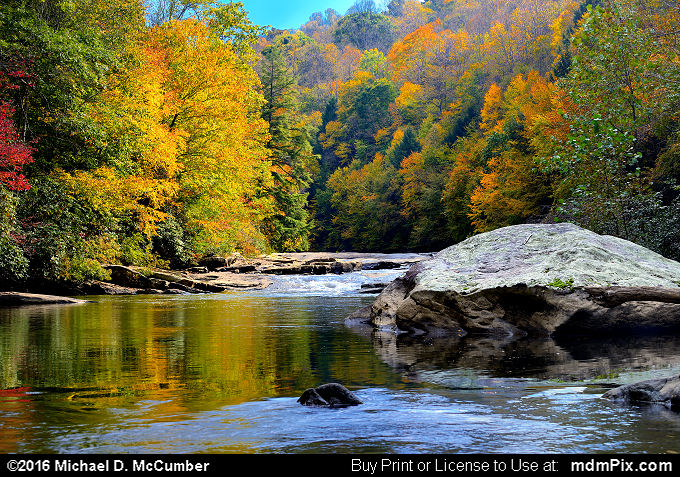 Indian Creek (Indian Creek Picture 020 - October 16, 2016 from Mill Run, Pennsylvania)