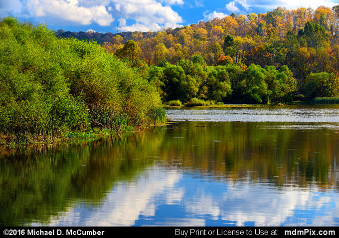 Mill Run Resevoir (Mill Run Resevoir Picture 057 - October 16, 2016 from Mill Run, Pennsylvania)