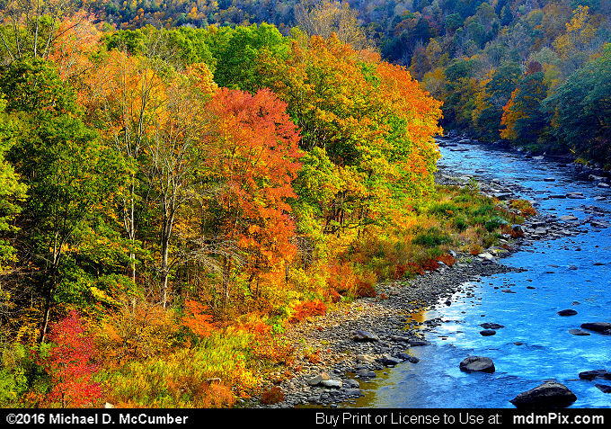 High Pinkerton Bridge Overlook (High Pinkerton Bridge Overlook Picture 012 - October 18, 2016 from Upper Turkeyfoot Township, Pennsylvania)