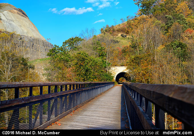 Pinkerton Tunnel (Pinkerton Tunnel Picture 049 - October 18, 2016 from Upper Turkeyfoot Township, Pennsylvania)