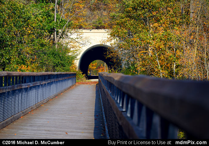 Pinkerton Tunnel (Pinkerton Tunnel Picture 050 - October 18, 2016 from Upper Turkeyfoot Township, Pennsylvania)