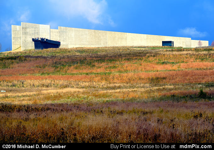 Flight 93 Memorial Visitor Center Complex (Flight 93 Memorial Visitor Center Complex Picture 033 - October 19, 2016 from Flight 93 National Memorial, Pennsylvania)