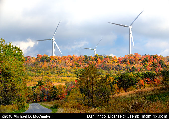 Windmill (Windmill Picture 038 - October 19, 2016 from Stoystown, Pennsylvania)