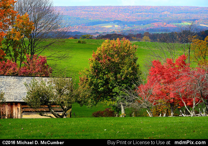 Laurel Ridge (Laurel Ridge Picture 049 - October 19, 2016 from Somerset, Pennsylvania)