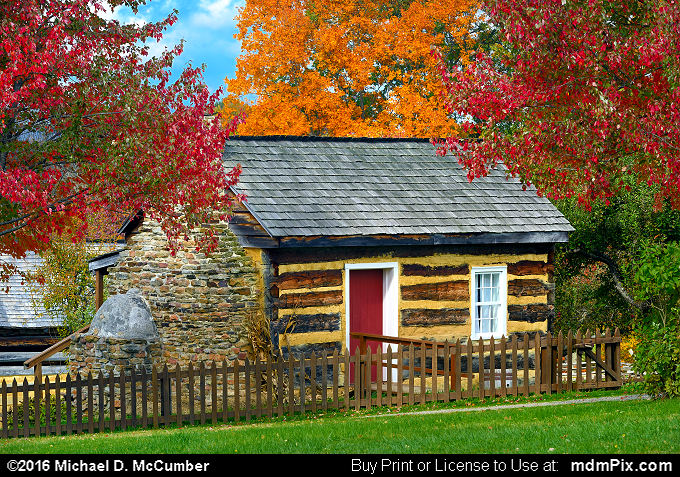 Log Cabin (Log Cabin Picture 055 - October 19, 2016 from Somerset, Pennsylvania)