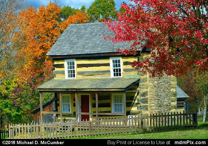 Log Cabin (Log Cabin Picture 056 - October 19, 2016 from Somerset, Pennsylvania)