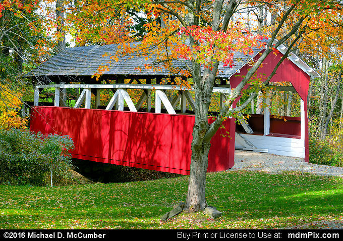 Walter's Mill Covered Bridge (Walter's Mill Covered Bridge Picture 059 - October 19, 2016 from Somerset, Pennsylvania)