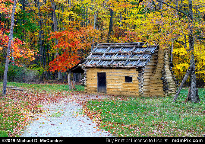 Log Cabin (Log Cabin Picture 061 - October 19, 2016 from Somerset, Pennsylvania)