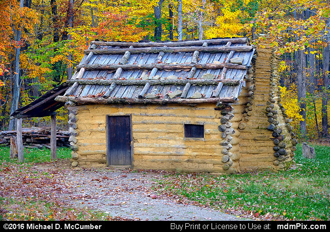 Log Cabin (Log Cabin Picture 062 - October 19, 2016 from Somerset, Pennsylvania)