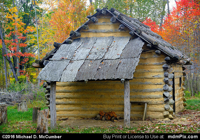 Log Cabin (Log Cabin Picture 063 - October 19, 2016 from Somerset, Pennsylvania)