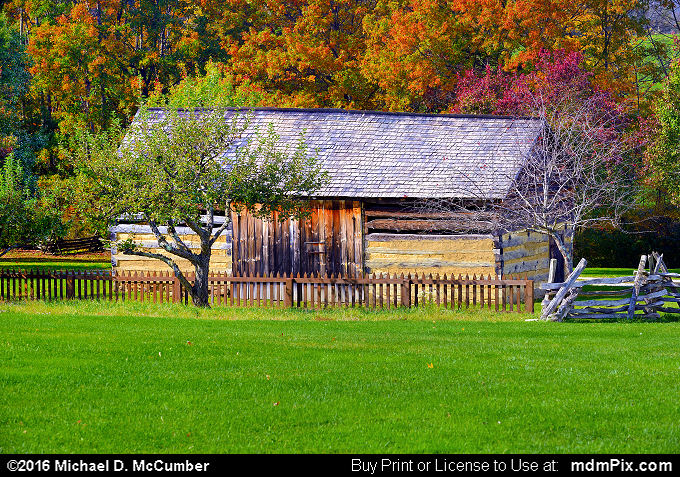 Barn (Barn Picture 069 - October 19, 2016 from Somerset, Pennsylvania)