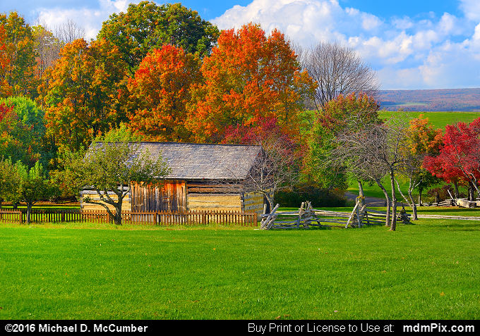 Barn (Barn Picture 070 - October 19, 2016 from Somerset, Pennsylvania)