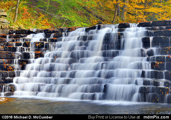 Jones Mill Run Dam (Jones Mill Run Dam Picture 108 - October 19, 2016 from Laurel Hill State Park, Pennsylvania)