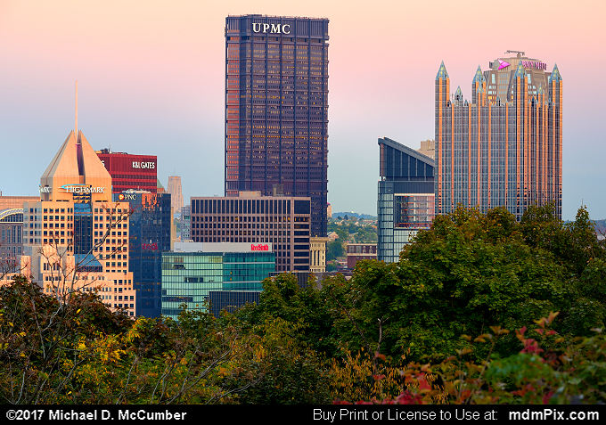 Pittsburgh Skyline (Pittsburgh Skyline Picture 008 - October 23, 2016 from Pittsburgh, Pennsylvania)