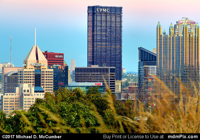 Pittsburgh Skyline (Pittsburgh Skyline Picture 009 - October 23, 2016 from Pittsburgh, Pennsylvania)