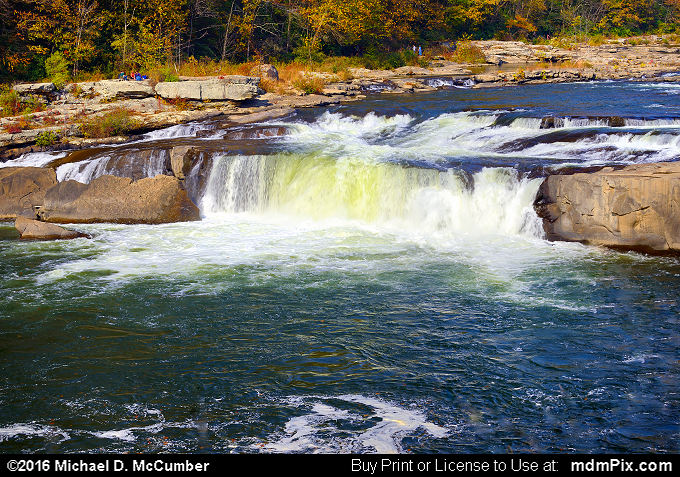 Ohiopyle Falls (Ohiopyle Falls Picture 014 - October 29, 2016 from Ohiopyle State Park, Pennsylvania)