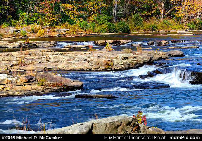 Youghiogheny River (Youghiogheny River Picture 015 - October 29, 2016 from Ohiopyle State Park, Pennsylvania)