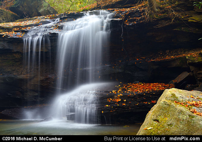 Jonathan Run Falls (Jonathan Run Falls Picture 050 - October 29, 2016 from Ohiopyle State Park, Pennsylvania)