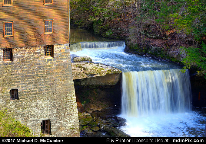 Lanterman's Mill (Lanterman's Mill Picture 012 - April 9, 2017 from Mill Creek Park, Ohio)