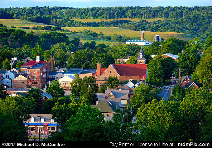 Ligonier Skyline (Ligonier Skyline Picture 029 - July 15, 2017 from Ligonier, Pennsylvania)