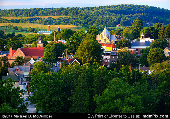 Ligonier Skyline (Ligonier Skyline Picture 038 - July 15, 2017 from Ligonier, Pennsylvania)