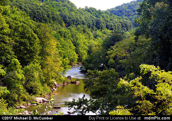 YR Trail Ohiopyle to Connellsville Vista (YR Trail Ohiopyle to Connellsville Vista Picture 002 - September 10, 2017 from Ohiopyle State Park, Pennsylvania)